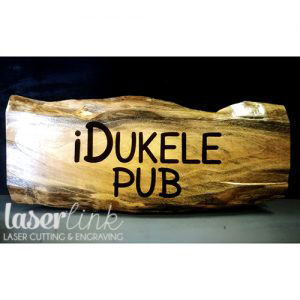 Solid wood engraved sign boards 005