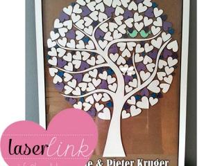 Tree Wedding Guest Book 012