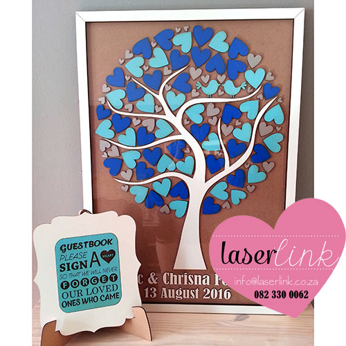 Tree Wedding Guest Book 013