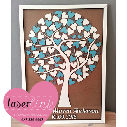 Tree Wedding Guest Book 014