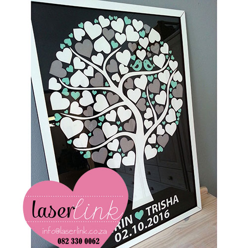 Tree Wedding Guest Book 015