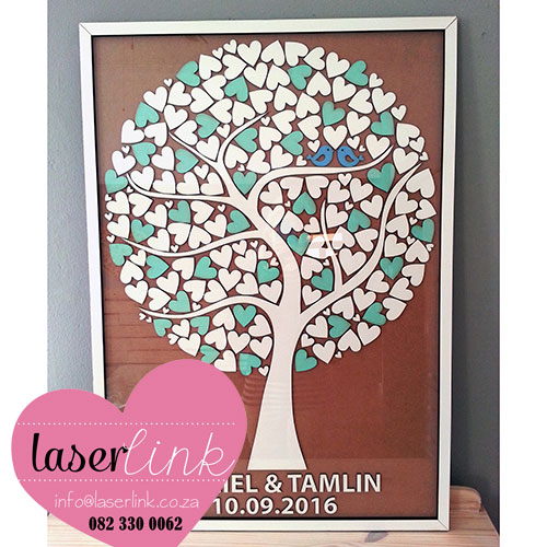 Tree Wedding Guest Book 016