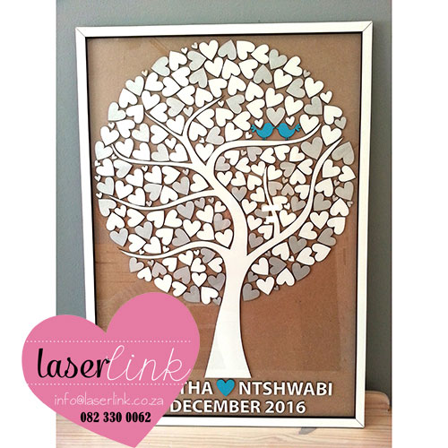Tree Wedding Guest Book 019