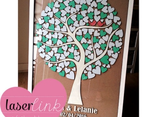 Tree Wedding Guest Book