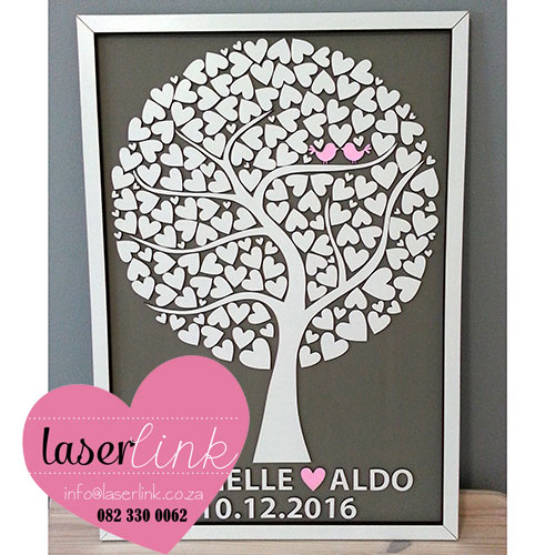 Tree Wedding Guest Book 020
