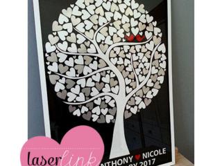 Tree Wedding Guest Book 023