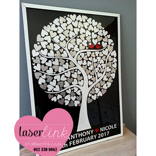 Tree Wedding Guest Book 023