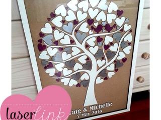 Tree Wedding Guest Book 003