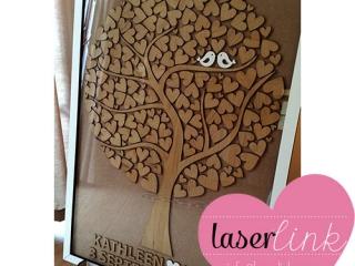 Tree Wedding Guest Book 008