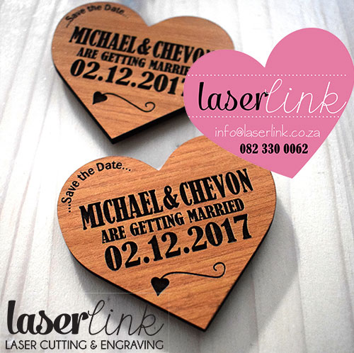 wooden save the date magnet 016