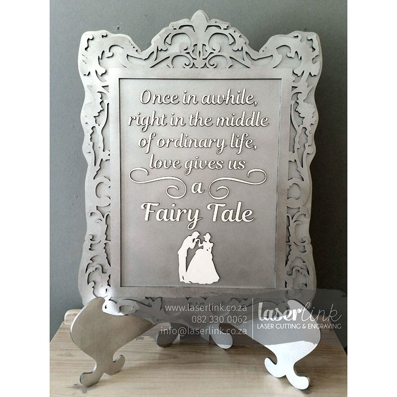 Wooden Wedding Sign Board 003